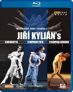Jiri Kylian & The Nederlands Dans Theatre. Sinfonietta, Symphony In D... - Blu-ray