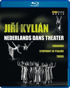 Jiri Kylian & The Nederlands Dans Theatre. Svadebka - Symphony of Psalms - Torso - Blu-ray
