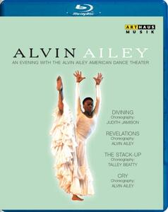 An Evening with the Alvin Ailey American Dance Theatre - Blu-ray