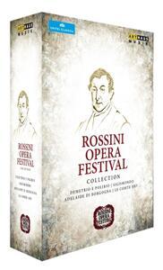 Rossini Opera Festival Collection (6 DVD) di Pierluigi Pier'Alli,Davide Livermore,Damiano Michieletto,Lluis Pasqual