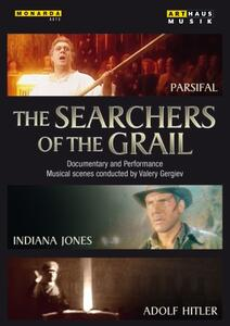 The Searchers Of The Grail. Parsifal, Indiana Jones, Adolf Hitler - DVD