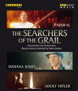 The Searchers Of The Grail. Parsifal, Indiana Jones, Adolf Hitler - Blu-ray