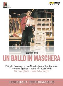Verdi. Un ballo in maschera  - DVD