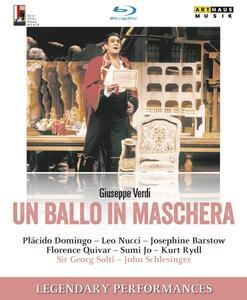 Verdi. Un ballo in maschera  - Blu-ray