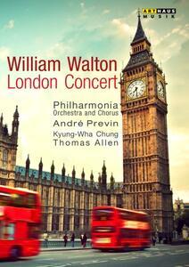 William Walton. London Concert: Orb And Sceptre, Concerto Per Violino, Belshazza - DVD