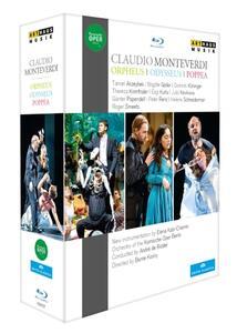 Claudio Monteverdi. Orfeo, L'incoronazione Di Poppea, Il Ritorno Di Ulisse (3 Blu-ray) - Blu-ray