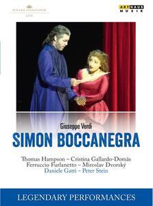 Giuseppe Verdi. Simon Boccanegra - DVD