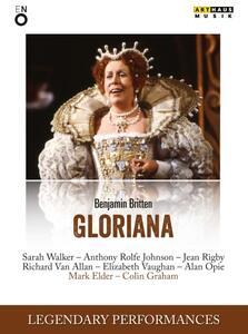 Benjamin Britten. Gloriana di Colin Graham - DVD