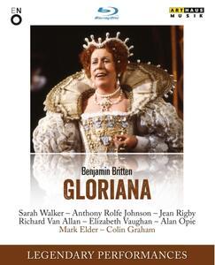 Benjamin Britten. Gloriana di Colin Graham - Blu-ray
