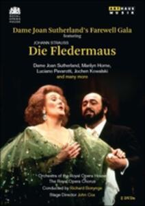 Johann Strauss. Dame Joan Sutherland's Farewell Gala - Il Pipistrello (2 DVD) - DVD