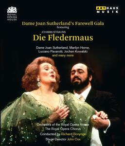 Johann Strauss. Dame Joan Sutherland's Farewell Gala - Il Pipistrello - Blu-ray