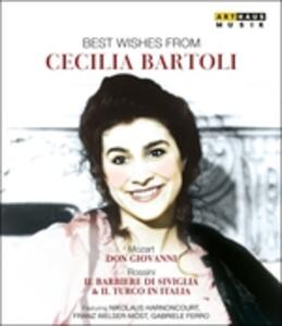 Best Wishes From Cecilia Bartoli (3 DVD) - DVD