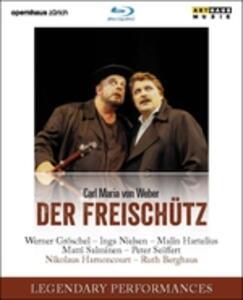 Carl Maria Von Weber. Der Freischütz. Il Franco Cacciatore - Blu-ray