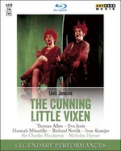Leos Janacek. The Cunning Little Vixen. La piccola volpe astuta - Blu-ray