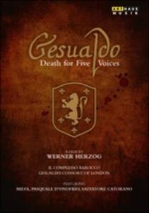 Gesualdo. Death For Five Voices di Werner Herzog - DVD