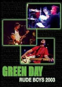 Green Day. Rude Boys 2003 - DVD
