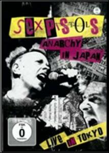 The Sex Pistols. Anarchy in Japan - DVD