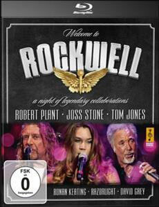 Welcome to Rockwell. A Night of Legendary Collaborations - Blu-ray