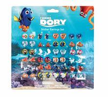 Alla Ricerca di Dory. Orecchini Sticker 24 Paia