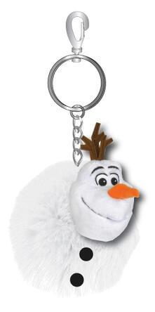 Frozen. Olaf. Portachiavi Con Pallina Di Pelo 4X8 Cm