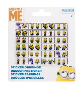 Orecchini Sticker Minions 24 pezzi