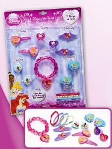 Giocattolo Principesse Disney. Set accessori per tutta la settimana Joy Toy