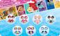 Giocattolo Principesse Disney. Orecchini Sticker E Anelli Per Tutta La Settimana Joy Toy 0