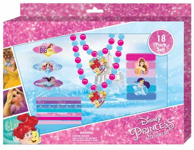 Giocattolo Principesse Disney. Set Accessori 18 Pz Joy Toy