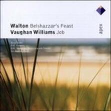 Belshazzar's Feast / Job - CD Audio di Ralph Vaughan Williams,William Walton,Andrew Davis