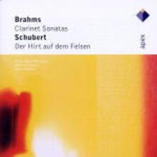 Sonate per clarinetto n.1, n.2 / Der Hirt auf dem Felsen - CD Audio di Johannes Brahms,Franz Schubert,Anna-Maija Korsimaa