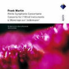 Piccola sinfonia concertante - Concerto per strumenti a fiato - CD Audio di Frank Martin,Orchestre de la Suisse Romande,Armin Jordan