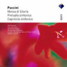 Messa di Gloria - Preludio sinfonico - Capriccio sinfonico - CD Audio di Giacomo Puccini,José Carreras,Hermann Prey,Claudio Scimone,Philharmonia Orchestra