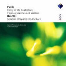 L'entrata dei gladiatori / Rapsodia slava - CD Audio di Antonin Dvorak,Julius Fucik