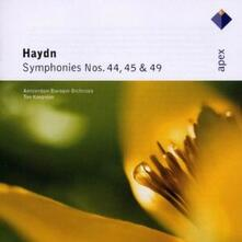 Sinfonie n.44, n.45, n.49 - CD Audio di Franz Joseph Haydn,Ton Koopman,Amsterdam Baroque Orchestra