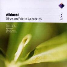 Concerti per oboe - Concerti per violino - CD Audio di Tomaso Giovanni Albinoni,Claudio Scimone,Solisti Veneti