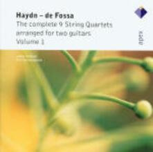 Quartetti per archi arrangiati per due chitarre vol.1 - CD Audio di Franz Joseph Haydn