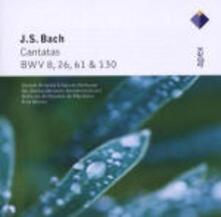 Cantate BWV8, BWV61, BWV26, BWV130 - CD Audio di Johann Sebastian Bach