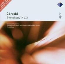 Sinfonia n.3 - CD Audio di Henryk Mikolaj Gorecki