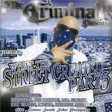What the Streets Created part 3 - CD Audio di Mr. Criminal