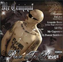 Rise 2 Power - CD Audio di Mr. Criminal