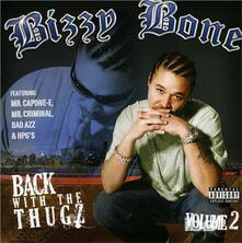 Back with the Thugz ii - CD Audio di Bizzy Bone