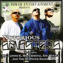 Notorious Gangsters - CD Audio