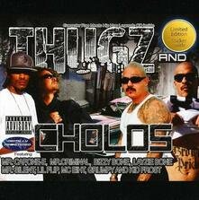Thugz and Choloz - CD Audio