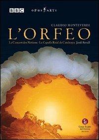 Locandina Claudio Monteverdi. L'Orfeo