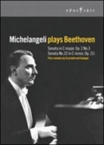Arturo Benedetti Michelangeli. Michelangeli plays Beethoven - DVD