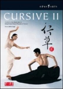 John Cage. Cursive II - DVD