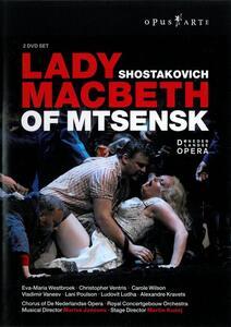 Dmitry Shostakovich. Lady Macbeth Of Mtsensk (2 DVD) di Martin Kusej - DVD