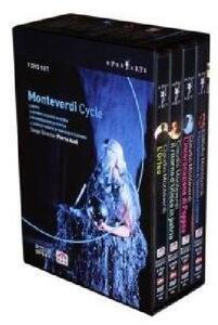 Monteverdi Cycle (7 DVD) di Pierre Audi