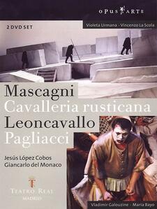 Mascagni, Cavalleria rusticana. Leoncavallo. Pagliacci (2 DVD) di Giancarlo Del Monaco