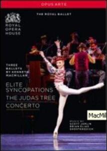 Kenneth MacMillan. Tre balletti - DVD
